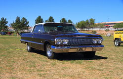 1963 Chevrolet Impala Fotografia Royalty Free