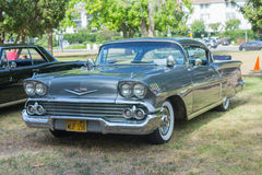 Chevrolet Impala car on display. Woodland Hills, CA, USA - May 30, 2015: Chevrolet Impala car on display during 12th Annual LAPD Car Show & Safety Fair Royalty Free Stock Image