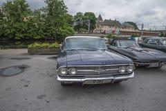 1960 Chevrolet-Impala 4-deur Hardtopsedan Royalty-vrije Stock Fotografie