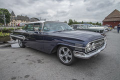 1960 Chevrolet-Impala 4-deur Hardtopsedan Royalty-vrije Stock Foto's