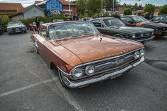 1960 Chevrolet-Impala 2 Deurhardtop Royalty-vrije Stock Foto's