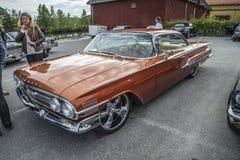 1960 Chevrolet-Impala 2 Deurhardtop Royalty-vrije Stock Foto