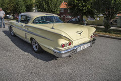1958 Chevrolet Impala Hardtop Coupe, for sale Stock Photography