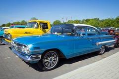 1960 Chevrolet-Impala klassieke auto Stock Afbeeldingen