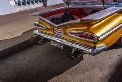 Chevrolet Impala oldtimer, Cienfuegos, Cuba Stock Image