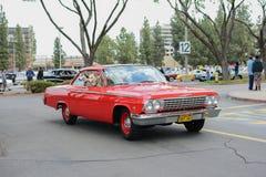 Chevrolet Impala SS 409 κλασικό αυτοκίνητο στην επίδειξη Στοκ Φωτογραφίες