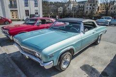 1966 Chevrolet Impala SS μετατρέψιμο Στοκ φωτογραφίες με δικαίωμα ελεύθερης χρήσης