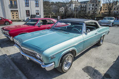1966 Chevrolet Impala SS convertible Royalty Free Stock Photos