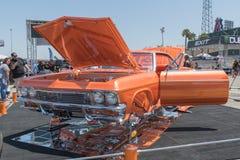 Chevrolet Impala ss su esposizione durante il DUB Show Tour Immagini Stock Libere da Diritti