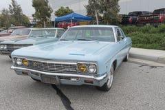 Chevrolet Impala su esposizione fotografia stock libera da diritti