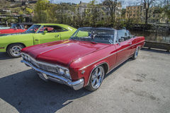 1966 Chevrolet Impala Super Sport 2-Door Convertible Royalty Free Stock Photo