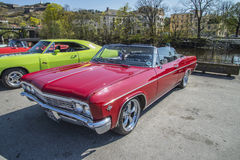 1966 Chevrolet Impala Super Sport 2-Door Convertible Royalty Free Stock Photography