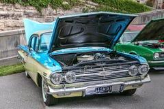 Chevrolet- Impalasport-Limousine 1960 stockbilder