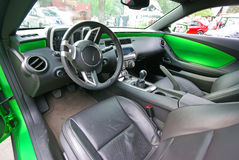 Chevrolet interior Kamaro Foto de archivo