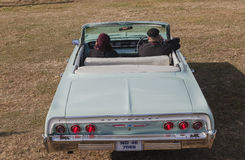 Chevrolet klassisk konvertibel tappningbil Royaltyfria Bilder