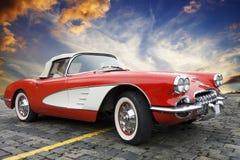 chevrolet klassiska corvette Arkivfoton