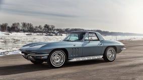 1966 Chevrolet-Korvet Stock Foto's