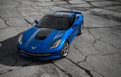 2014 Chevrolet-Korvet Royalty-vrije Stock Foto's