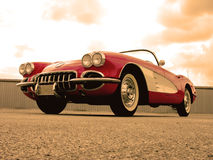 1959 Chevrolet-Korvet Royalty-vrije Stock Afbeelding