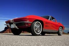 1963 Chevrolet-Korvet Royalty-vrije Stock Afbeelding