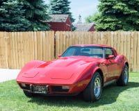 1977 Chevrolet-Korvet Stock Afbeelding