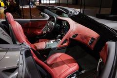Chevrolet-Korvet in Genève Stock Foto
