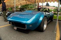 Chevrolet-Korvet IMSA bij de Historische Grand Prix 2015 van Bergamo Stock Foto's