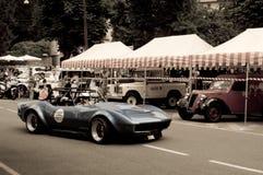 Chevrolet-Korvet IMSA bij de Historische Grand Prix 2015 van Bergamo Stock Afbeelding