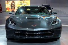 Chevrolet-Korvet 2014 Pijlstaartrog Royalty-vrije Stock Afbeeldingen