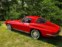 Chevrolet-Korvet, Uitstekende auto's Royalty-vrije Stock Fotografie