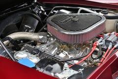 Chevrolet-Korvetc2 motor stock foto