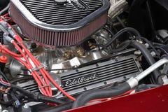 Chevrolet-Korvetc2 motor royalty-vrije stock foto's
