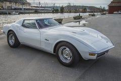 1971 Chevrolet-Korvetpijlstaartrog 454 Stock Afbeelding