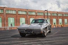 1966 Chevrolet-Korvetpijlstaartrog Stock Foto's