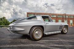 1966 Chevrolet-Korvetpijlstaartrog Stock Foto