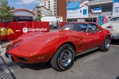 Chevrolet-Korvetpijlstaartrog 1973 Royalty-vrije Stock Foto's