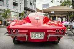 1963 Chevrolet-Korvetpijlstaartrog Stock Foto
