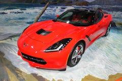 Chevrolet-Korvetsportwagen Stock Afbeelding