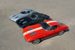 1963 Chevrolet-Korvetten Stock Afbeeldingen