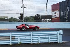 Chevrolet korweta na śladzie Zdjęcia Royalty Free