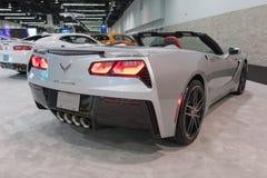 Chevrolet korweta na pokazie Obraz Stock