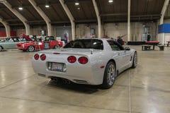 Chevrolet korweta na pokazie Obrazy Royalty Free