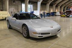 Chevrolet korweta na pokazie Obraz Royalty Free