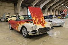 Chevrolet korweta na pokazie Obrazy Stock