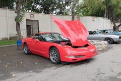 Chevrolet korweta na pokazie Zdjęcia Stock