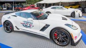 2015 Chevrolet korweta Z06, Indianapolis tempa samochód, Woodward Dr Fotografia Stock