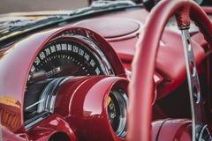 Chevrolet korwety Klasyczna rewolucjonistka 1959 obrazy royalty free