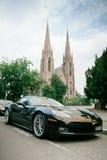 Chevrolet korwety ZR 1 luksusowy sportowy samochód Fotografia Royalty Free