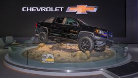 Chevrolet 2018 le Colorado ZR2, NAIAS Photo stock