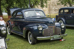 Chevrolet ledar- lyx- Royaltyfri Foto